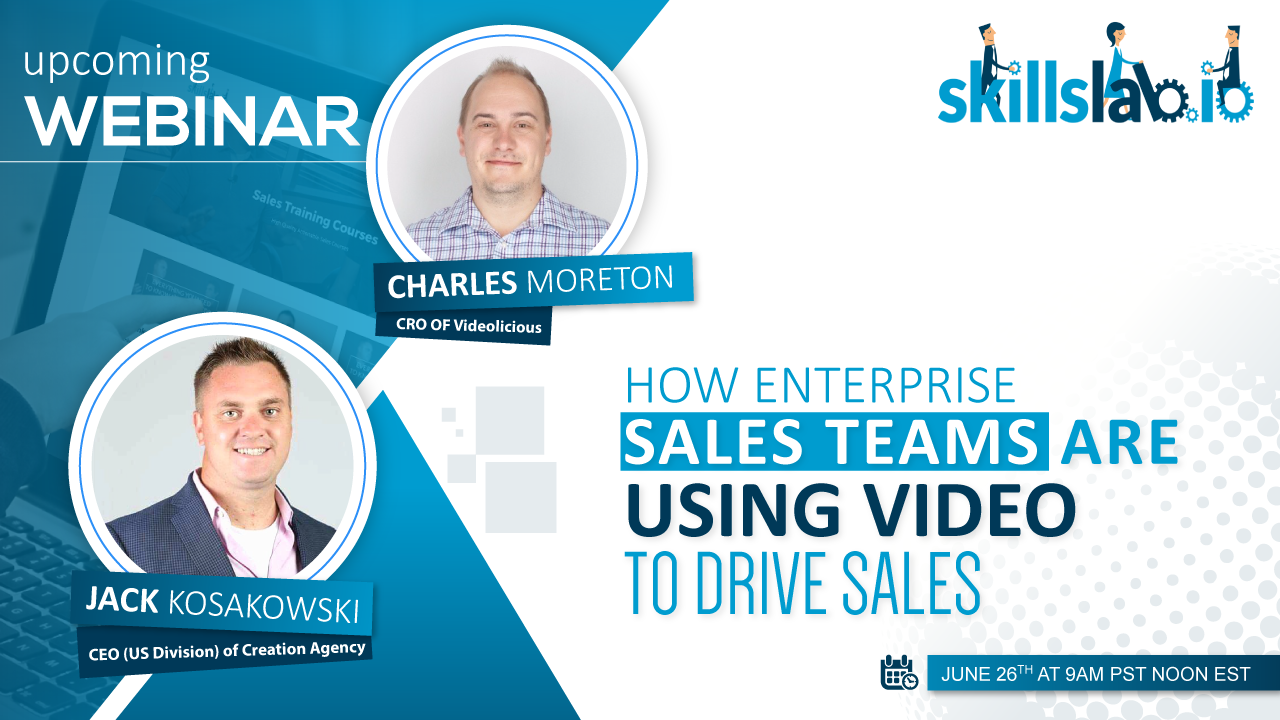 How Enterprise Sales Teams are Using Video to Drive Sales