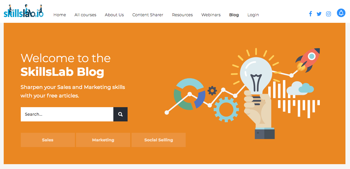 SkillsLab Blog. How Content Marketing Helps Your SEO.
