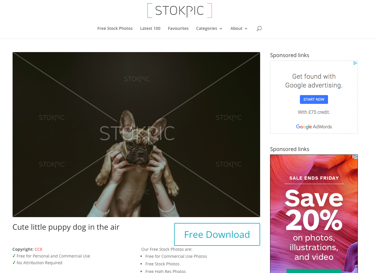 StokPic, Free Stock Photo Site