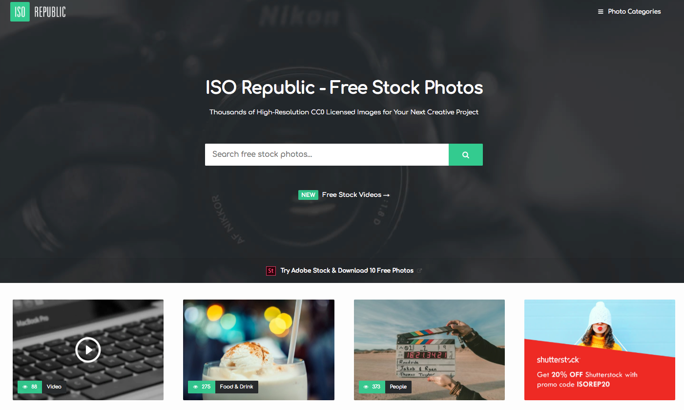 ISO Republic, Free Stock Photos