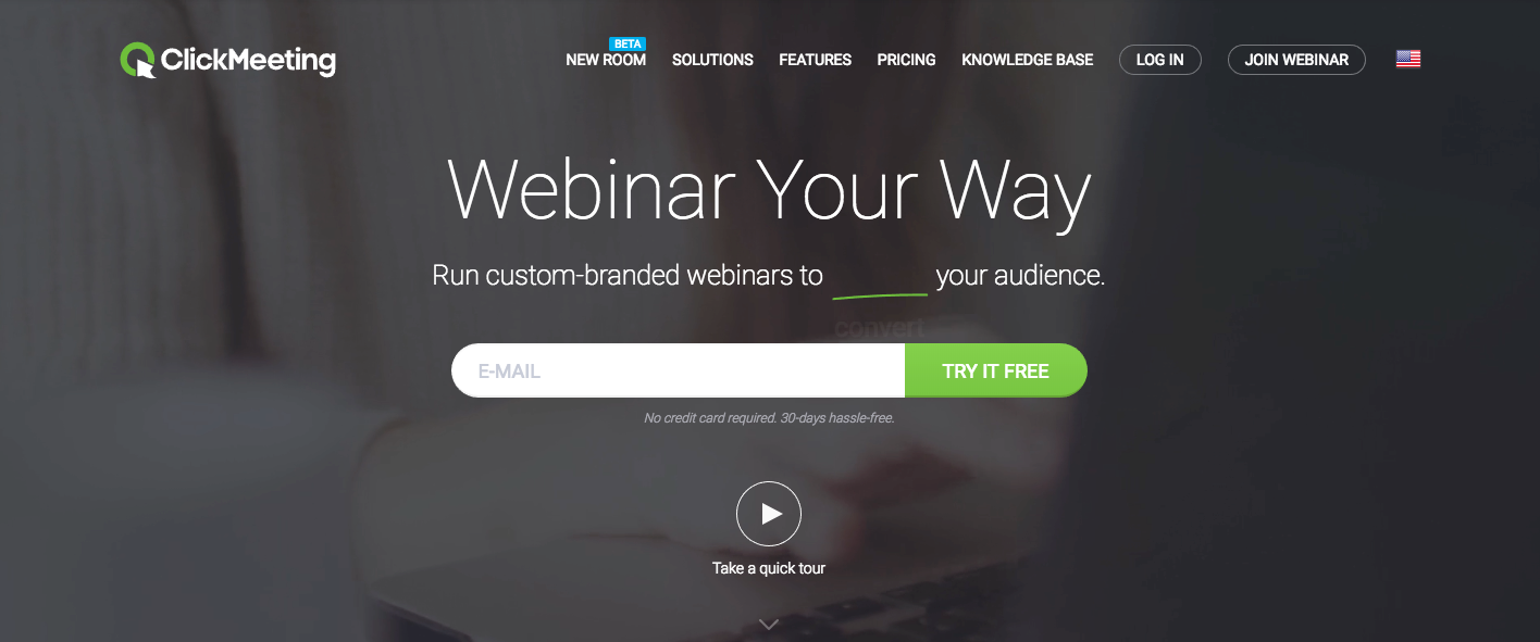 ClickMeeting - Best Webinar Platforms