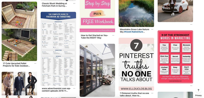 Pinterest Content Curation