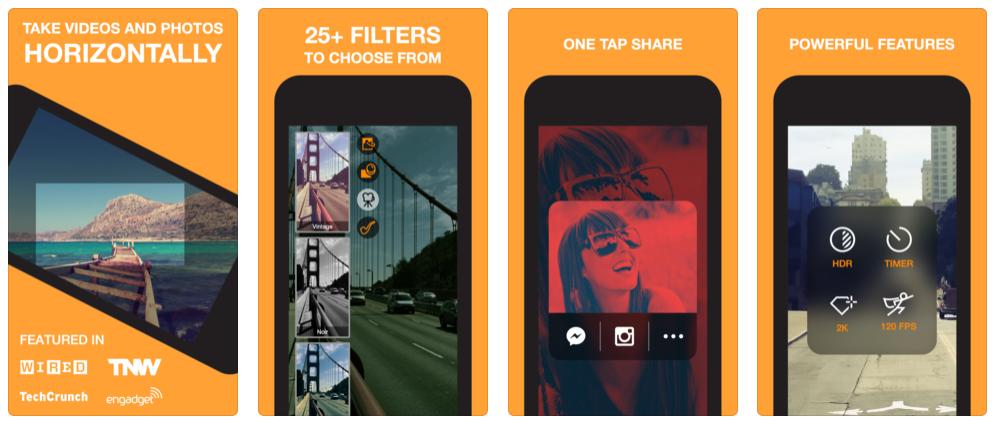 Instagram Video App, Horizon Camera