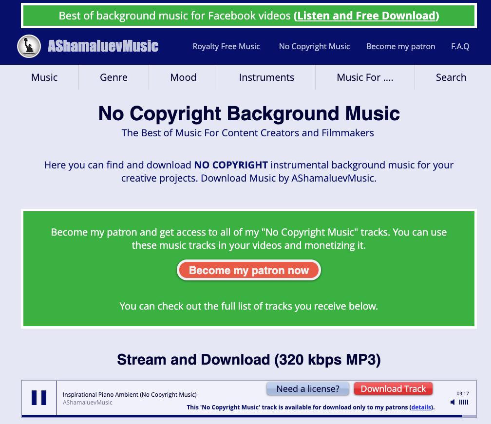 AShamaluevMusic-Non-Copyrighted-Music