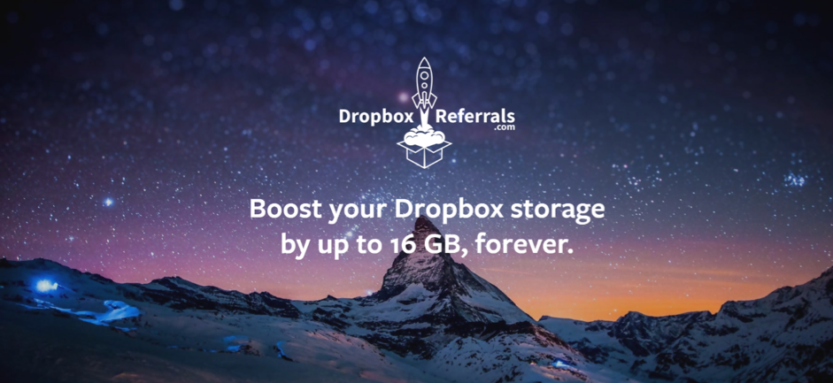 Dropbox referral programs