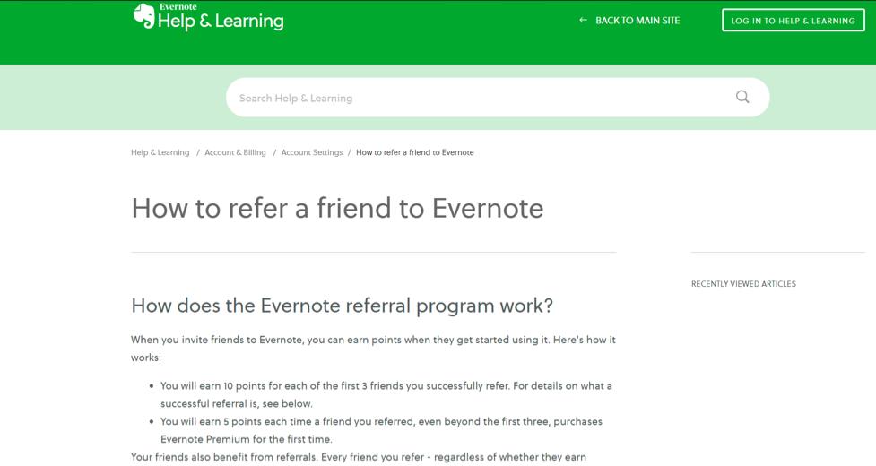 Evernote-Referral-Program
