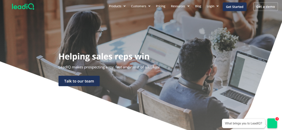LeadIQ Sales App