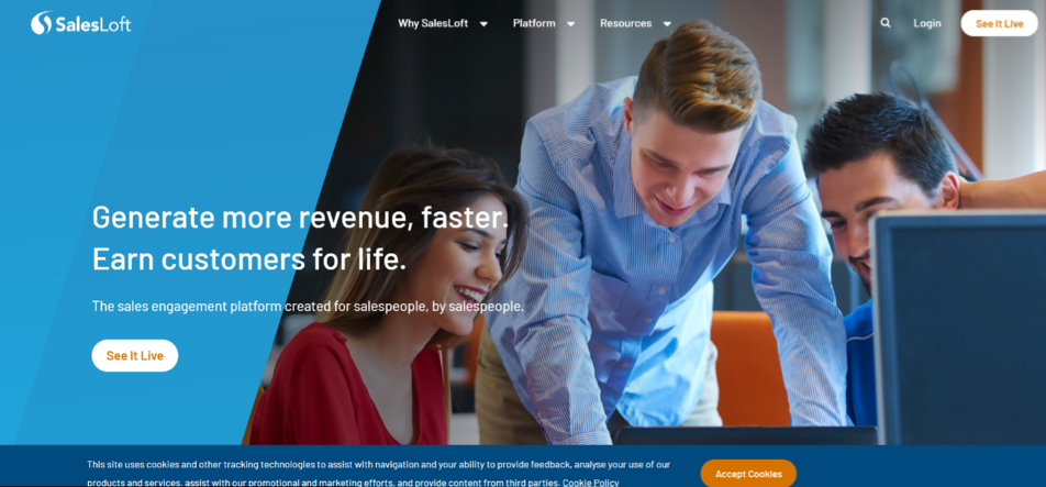 SalesLoft Sales App